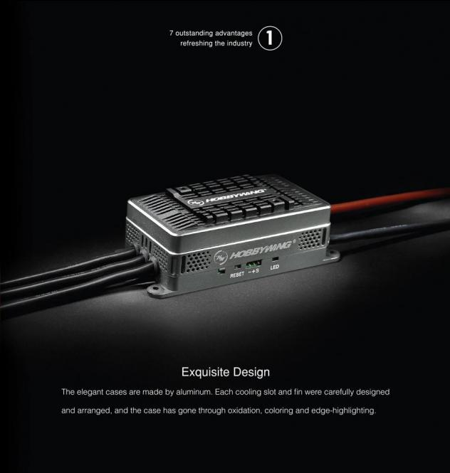 Hobbywing Platinum-160A-HV-V4