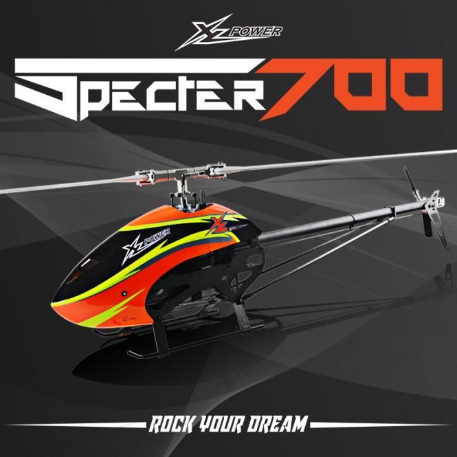 XL700 Specter700 Kit mit Blätter