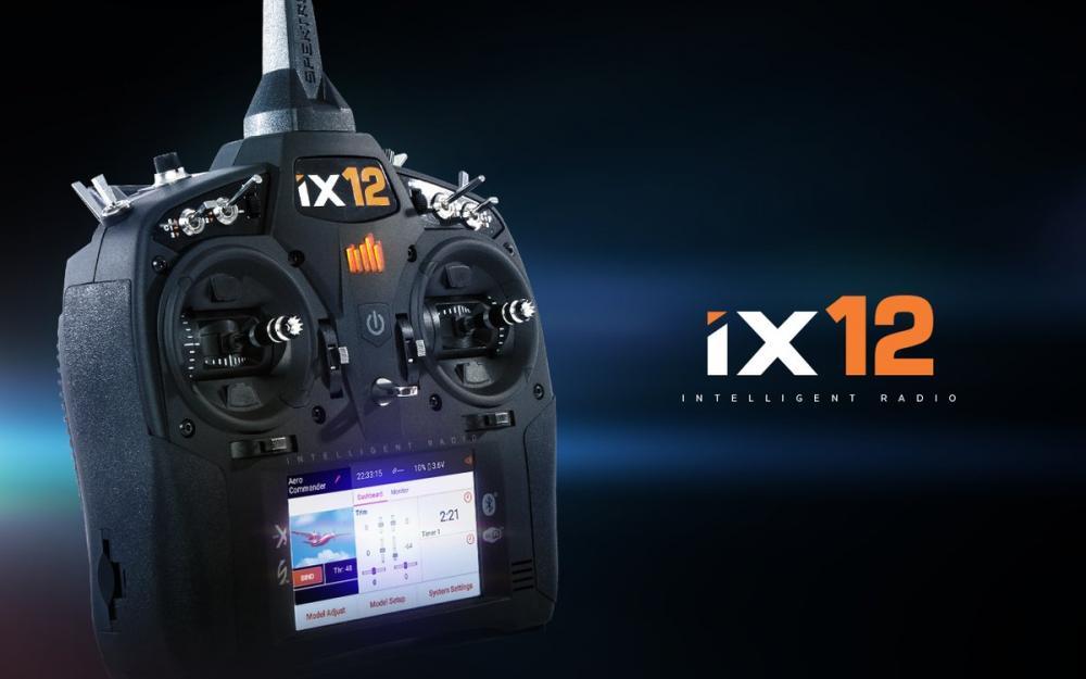 SPEKTRUM iX12 12-Kanal Fernsteuerung DSMX