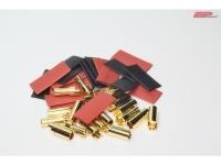 5,5mm Gold Stecker / Buchse