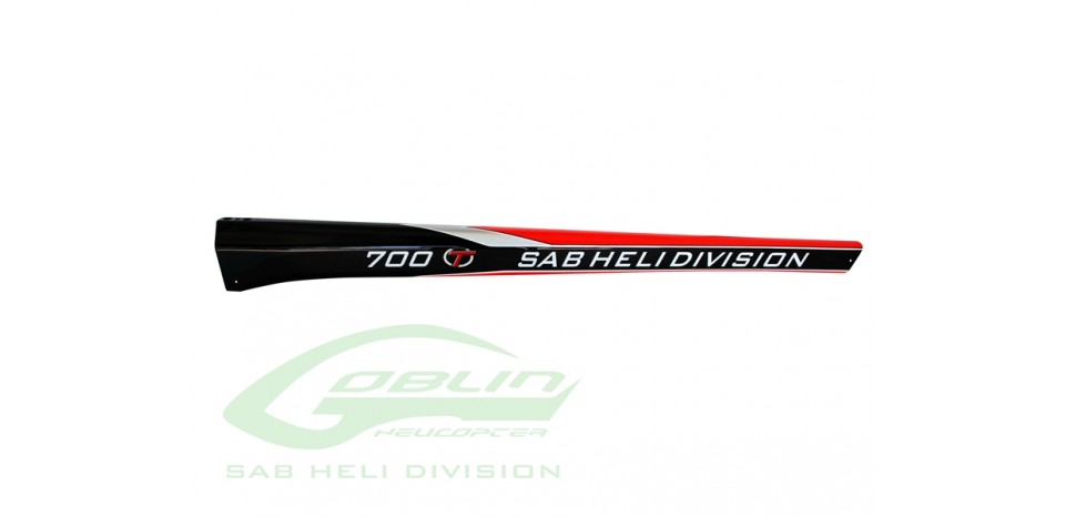 CARBON FIBER TAIL BOOM - GOBLIN BLACK THUNDER-T