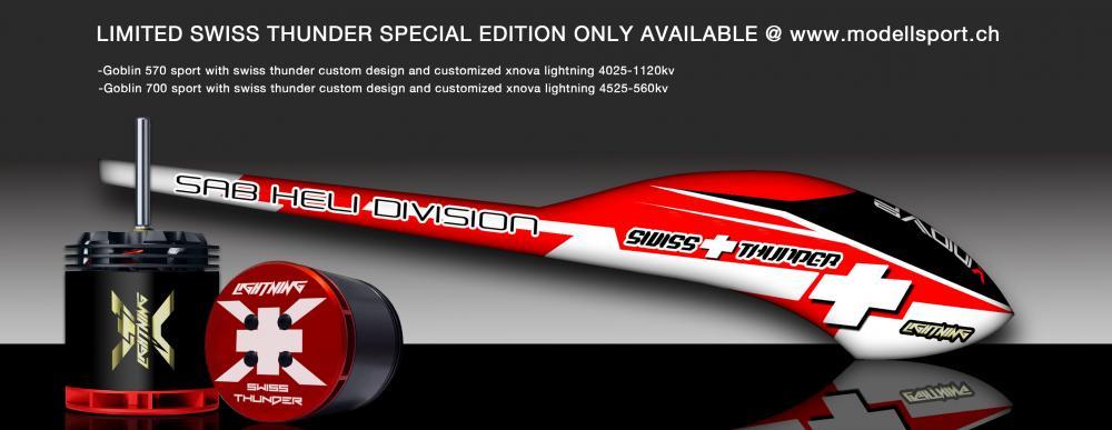 SAB Swiss Thunder 570 Sport mit Lightning Motor