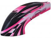 Lackierte Gfk Haube für Goblin 700 - Pink