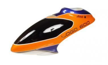 gfk haube logo 600 3d orange blau weiss. Black Bedroom Furniture Sets. Home Design Ideas