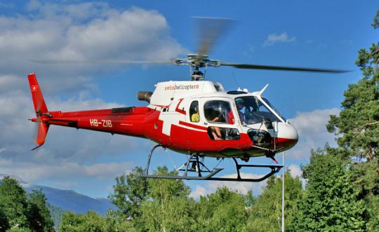 AS350 Swiss Helicopter Superscale 700