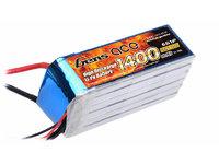 Gens ace Lipo 1450mAh 45C 22.2V T plug 6S1P