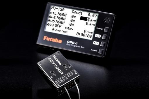 Futaba CGY760R /Fasst/FHHS Empfänger