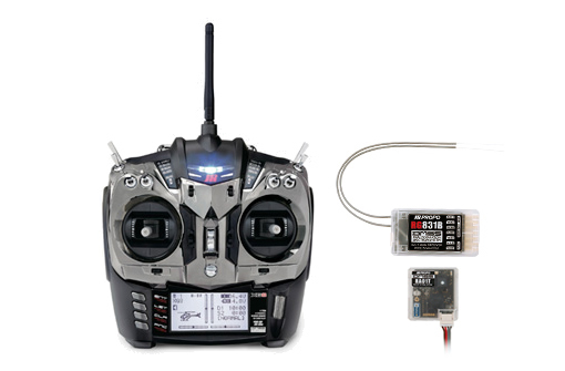 JR XG 8 schwarz metallic DMSS TL 2.4 GHz Sender