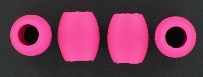K&S - Silikonstopper für Kufenrohre 10 mm Pink