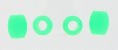 K&S - Silikonstopper für Kufenrohre 10 mm Grün
